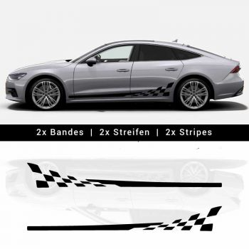 Kit Stickers Bandes Audi A7 / S7 Sportback 2019