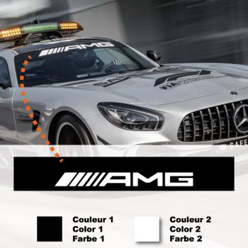 Mercedes AMG F1 Safety Car Sunstripe Sticker