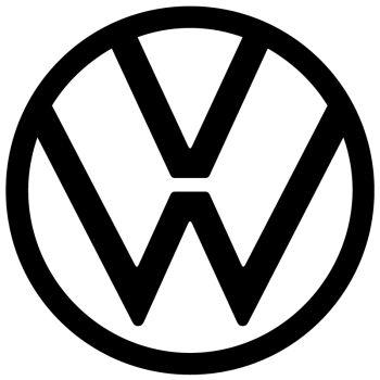VW Volkswagen Logo 2019 Aufkleber
