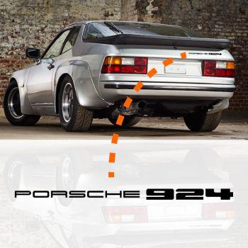 Porsche 924 Decal
