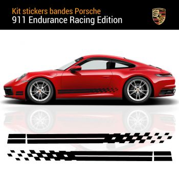 Porsche 911 Carrera S Endurance Racing Edition Stripes Decals