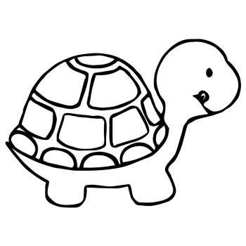 Turtle Car Sticker