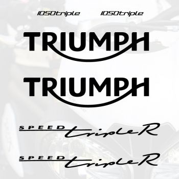 Kit Stickers Triumph Speed Triple R 1050