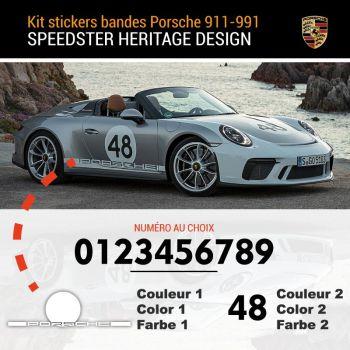 Porsche 911-991 Speedster Heritage Edition Decals