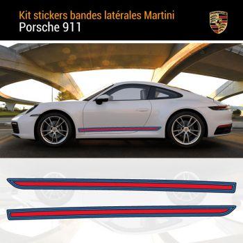 Porsche 911 Martini Stripes Decals Set