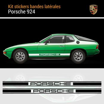 Porsche 924 Strips Decals Set