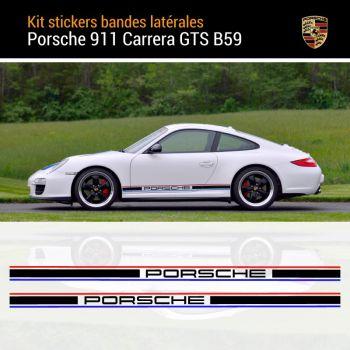 Porsche 911 - 997 Carrera GTS B59 Stripes Decals Set