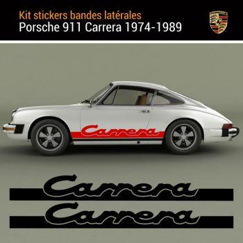 Porsche Carrera 911 (1974-1989) Stripes Decals Set