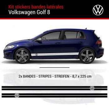 VW Golf 8 Stripes Decals set
