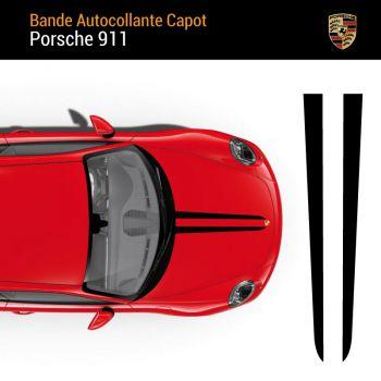 Porsche 911 Hood Strip Decal