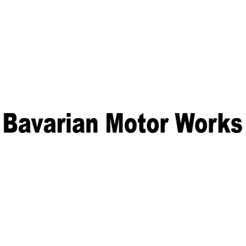 BMW Bavarian Motor Works Decal