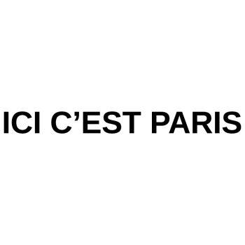 Sticker ICI C'EST PARIS