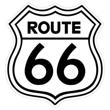 Sticker Route 66 USA