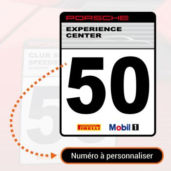 Porsche Experience Center Decal