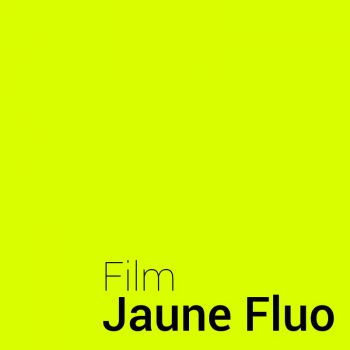 Neon yellow​ vinyl film