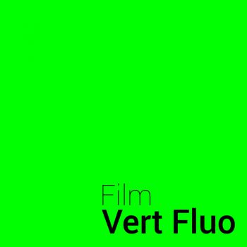 Fluorescence Green vinyl film