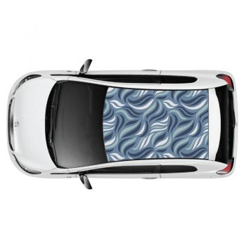 """The Sea"" Pattern Car Roof Sticker"