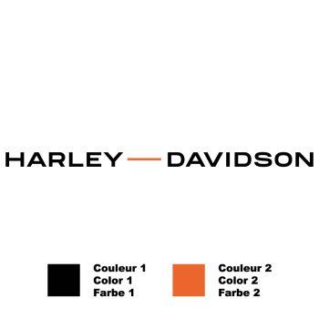 Harley-Davidson Logo 2020 Bicolor Decal
