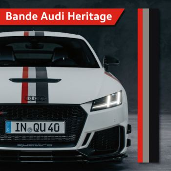 Audi Heritage Strip Decal