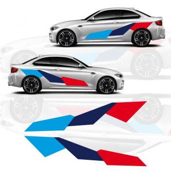 BMW M2 Performance Seitenstreifen Aufkleber