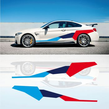 BMW M4 Performance Deko Aufkleber Set