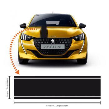 Peugeot 208 Racing Streifen Aufkleber #3