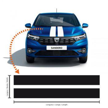 Dacia Sandero III Doppelt Streifen Aufkleber