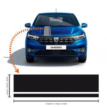 Dacia Sandero 3 Racing Streifen Aufkleber #2