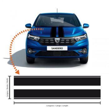 Dacia Sandero 3 Racing Streifen Aufkleber #4