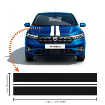 Dacia Sandero 3 Racing Streifen Aufkleber #6