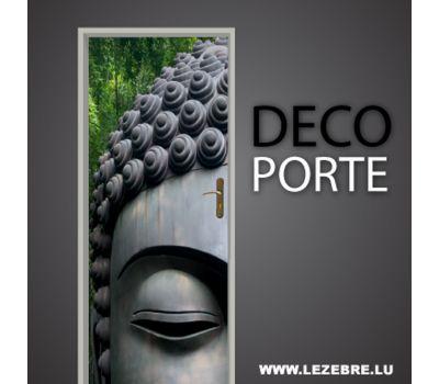 Autocollant Déco Porte Bouddha