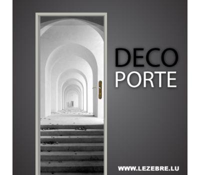 Autocollant pour porte perspective profondeur entree - Deco porte entree ...