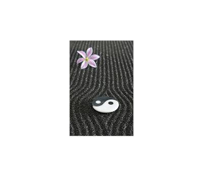 Sticker D Co Yin Et Yang Dans Un Jardin Zen