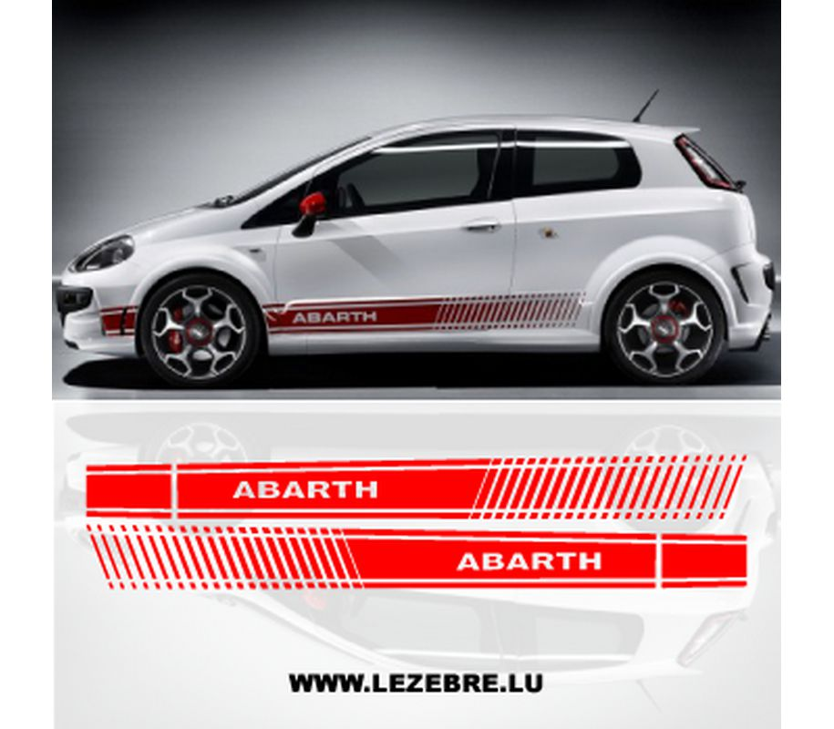 fiat punto abarth stickers kamos sticker. Black Bedroom Furniture Sets. Home Design Ideas