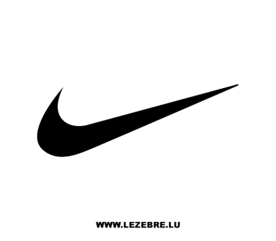 nike logo blanc png
