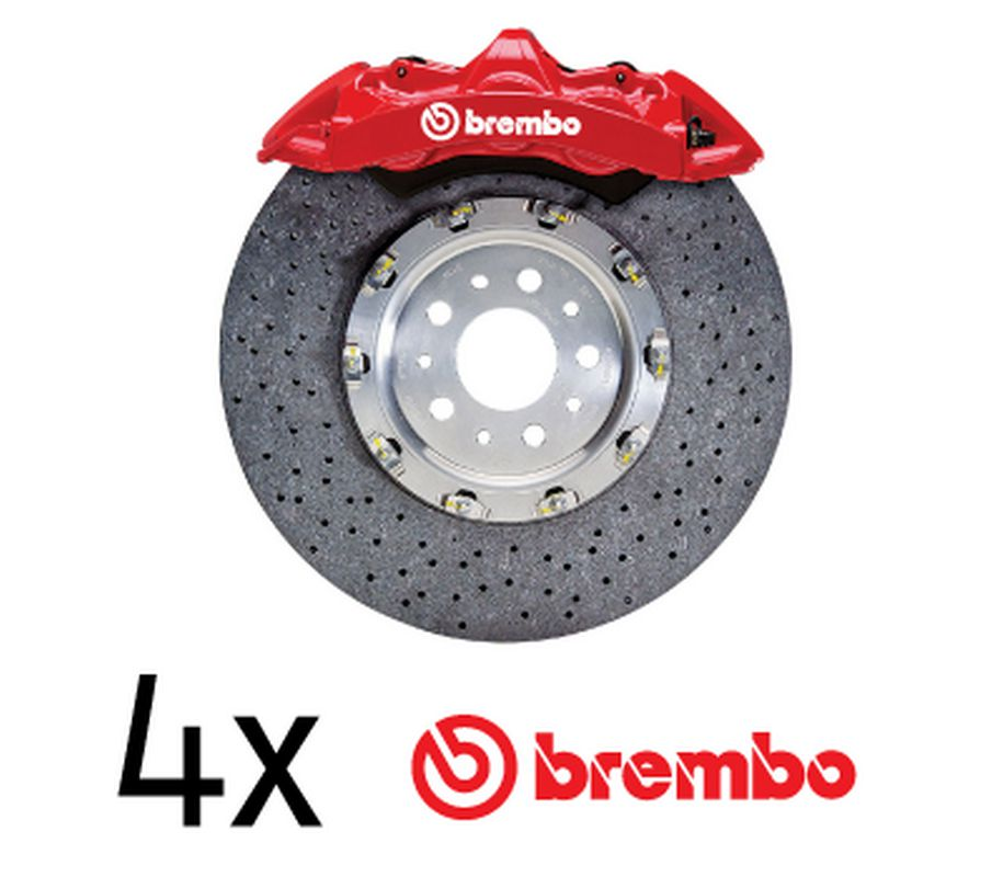 brembo logo brake decals set